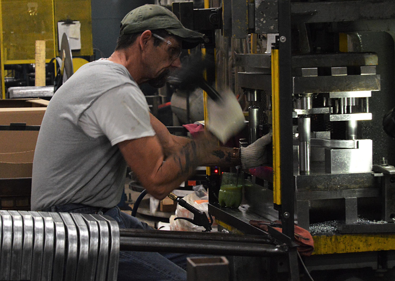 Industrial sheet metal
