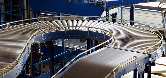 steel tube bending services conveyor belt