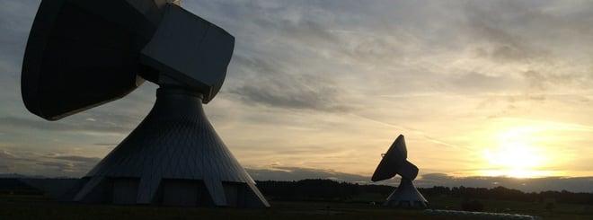 powder coated antennas satellites