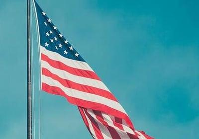manufacturing reshoring - american flag