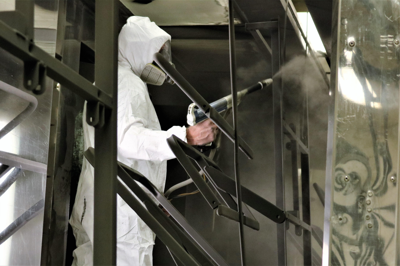 aluminum powder coated tubing